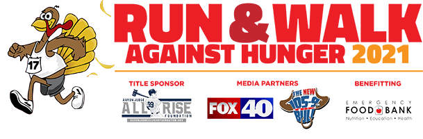 Annual Run and Walk Against Hunger benefiting the Emergency Food Bank Stockton/San Joaquin